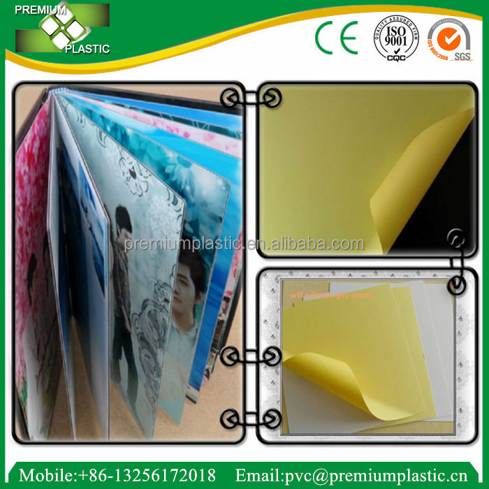 China manufacture pvc forex board 1mm pvc decorative sheet for photo album
