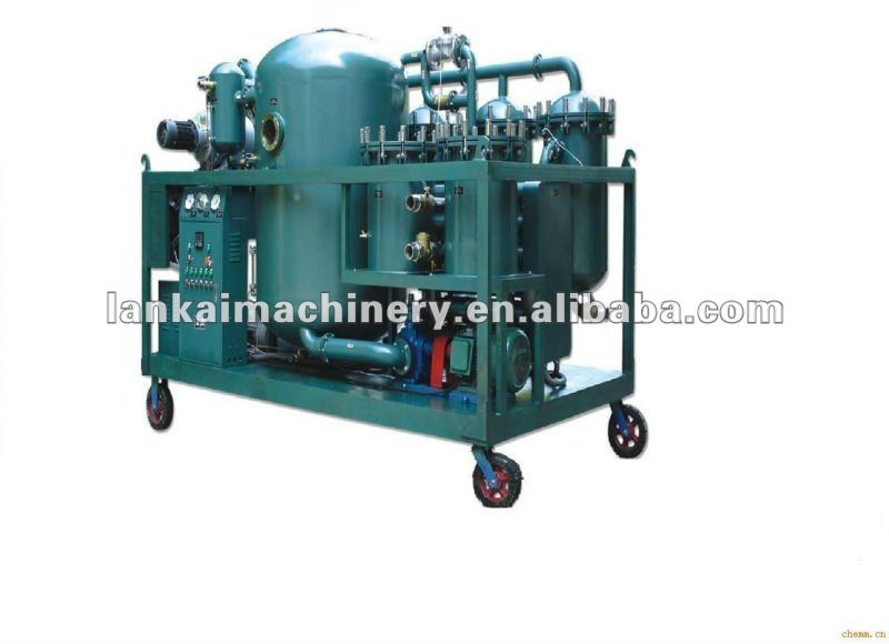 Vacuum technology automatic oil filtration,waste oil refine machine,waste oil reclaiming machine