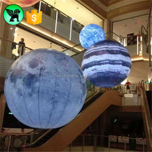 Moon Inflatable Globe Customized Event Hanging Jupiter Decoration Inflatable Y131