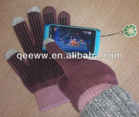 knitted, winter,iPhone,kids,girls 2012 new fashion,hot sale fashion touchscreen,hello kitty,mobile gloves