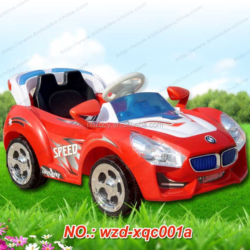 12 V double motor electric plastic car/childrens ride on plastic car