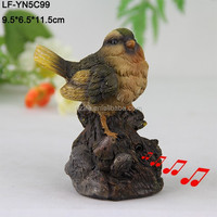Large resin garden bird statues