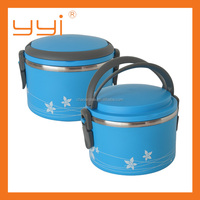 Multi-purpose Stainless steel & Plastic cover Lunch Box 1.2L & 2.0L