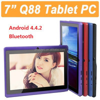 7 inch tablet PC A33 quad core wifi bluetooth MID