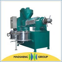 High yield groundnut small oil screw press machine