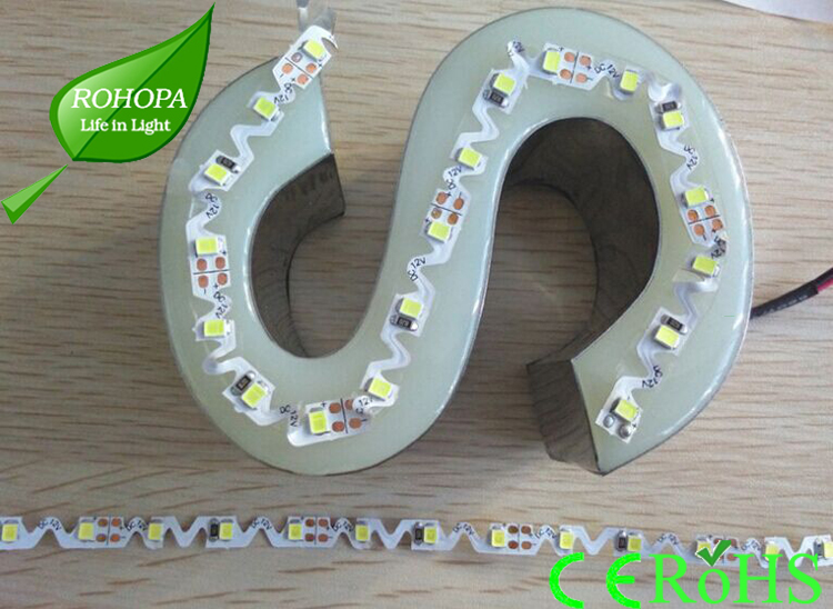 good flexibility 2835 S type Flexible LED Strip 60leds/m