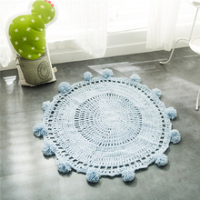 100% Acrylic handmade kids 3D carpet tile underlayment carpet