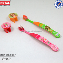 kids tooth brush with cap