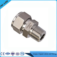 Stainless Steel Metric Thread Bite Type Hydraulic Tube Fitting From China Supplier