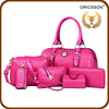 Winter Style 6pcs In 1 Set Handbags Clutch Bags Shoulder Bags