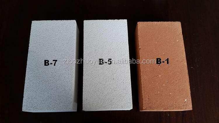 Light weight high alumina insulation brick Alumina insulation brick B-1/B-5/B-6/B-7