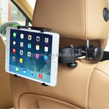 Adjustable Universal Car Back Seat Headrest Mount Tablet PC Stand Holder For iPad 2 3/4/5 AIR SAMSUNG