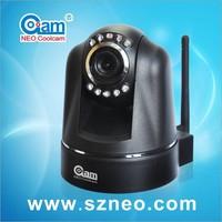 Coolcam Private Design MJPEG Wireless Wired IP Camera 2 Way Audio