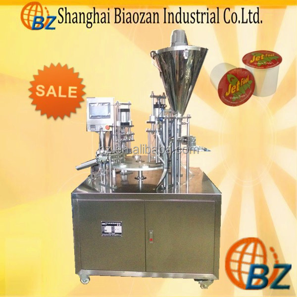 Professional Manufacturer Coffee Tea Cup Filling And Sealing Machine