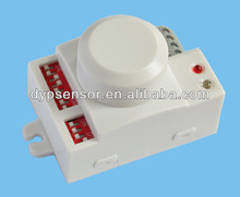 Microwave Motion Sensor for LightingMicrowave Doppler Motion SensoCeiling Mounted Wireless Long Distance Microwave Motion Sensor