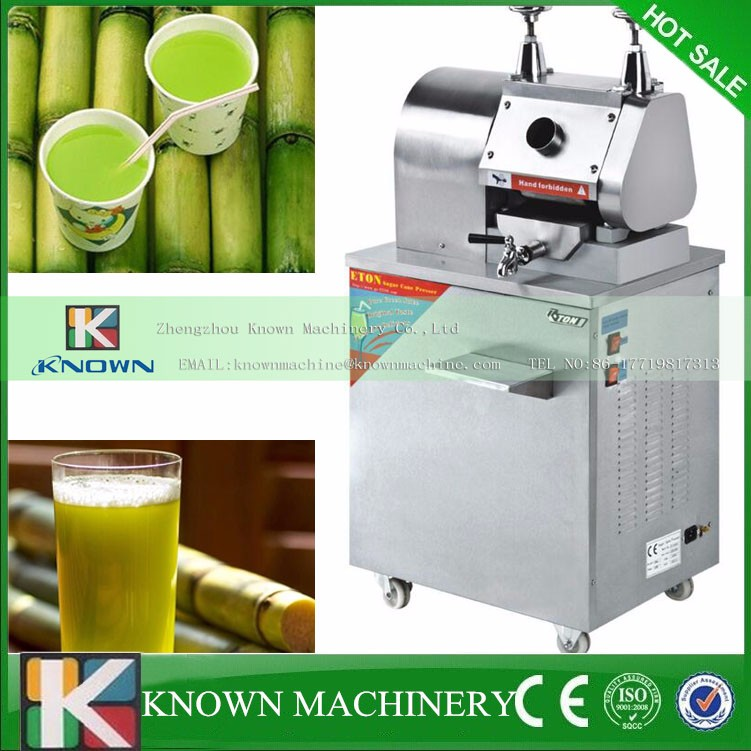 CE electric sugarcane juicer /sugarcane juice extractor/ sugarcane press machine