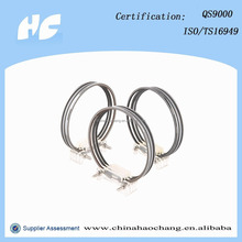 Tractor piston and piston rings