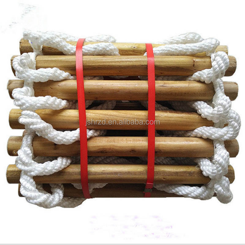 Climbing Wooden Rope Ladder