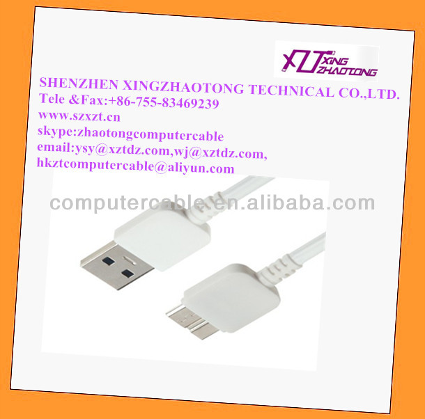USB 3.0 Data Syn Charger Cable for Samsung Note3 N9500 Wholesale