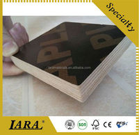 Black with logo Film Faced Plywood construction company in China
