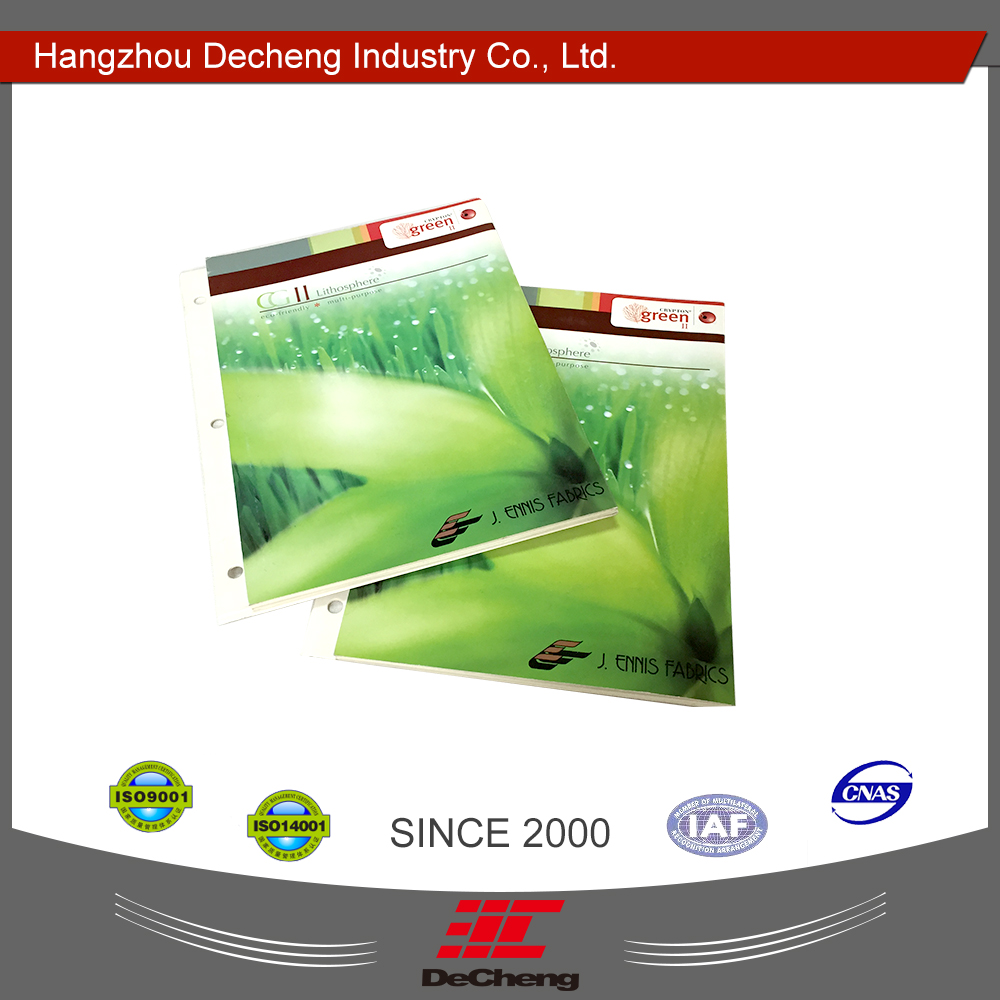 Fabric shade DC-03-28 file paper color card printing