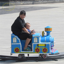 Tourist amusement park mini track electric trains for kids to ride on for sale