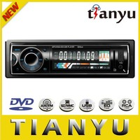 Universal one din car dvd radio player with sd aux usb