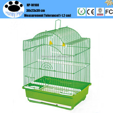 HP-W108 water fountain aluminium folding bird cage