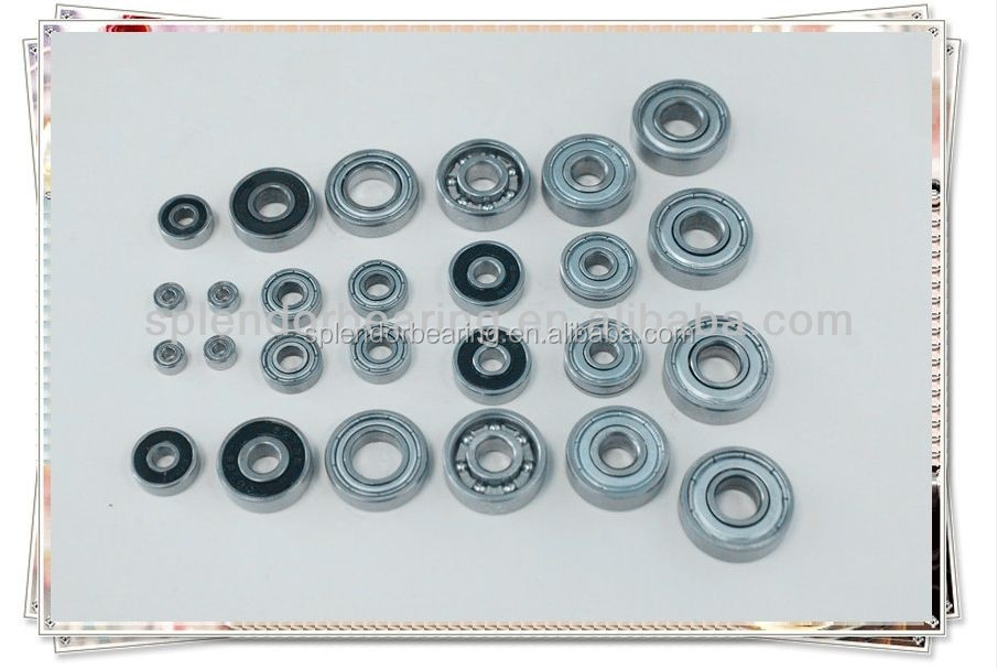 Industrial Package for Miniature Ball Bearing 623--629,605--609 ZZ for skateboard