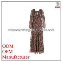 New Fashion Design Maxi Summer Dress Muslim