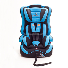 Gr.1+2+3 child car safety seat with removable & washable fabric covering