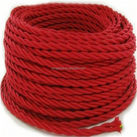 LC01 ce rohs 0.75m2 braided electrical wire for pendant lighting