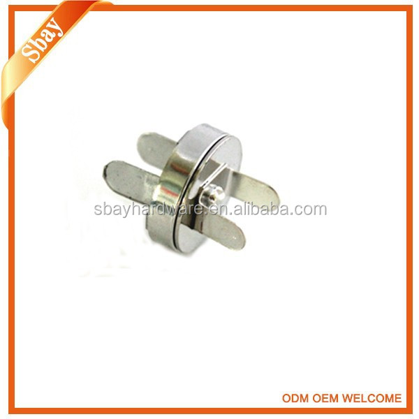 Fashion magnetic snap button push button for clothing