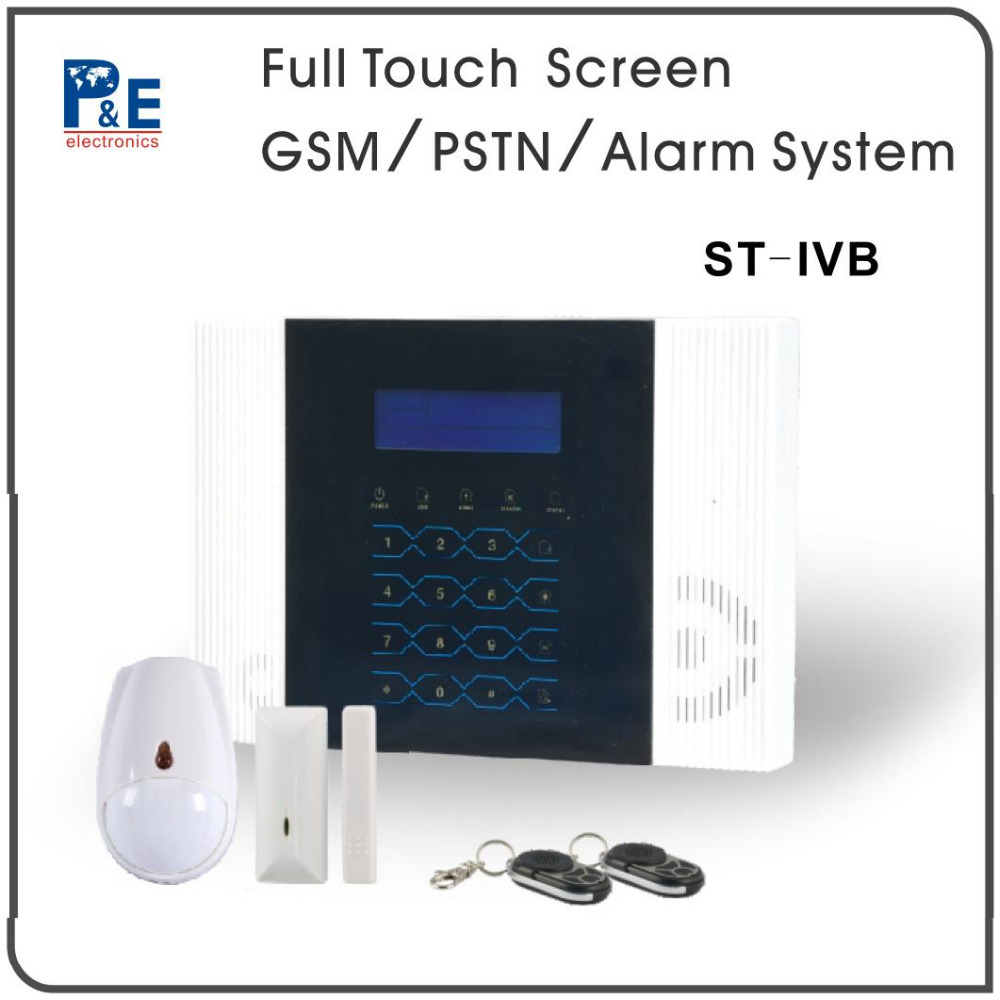 Meian GSM SMS wired/wireless intruder high tech conventional smart home burglar alarm system with 433/868MHZ