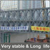 tensile strength steel galvanized panel for bailry bridge