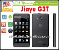 "JIAYU G3T 4.5"" IPS MT6589 Android 4.2 Quad Core 1.5GHz 3G Smartphone with 1GB RAM/4GB ROM/GPS/8.0MP - Black"