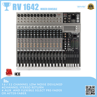 Series RV 12 channel sound system and mixer