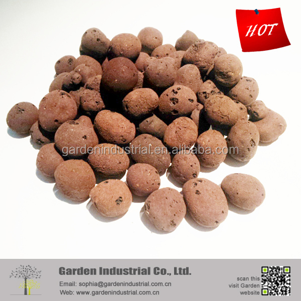 #4 China original expanded soiless growing media clay pellets price
