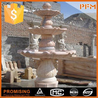 latest natural best price marble made gnome water fountain