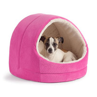 Lovely Soft Pet Products New Arrival Dog Bed Pet House Washable Pet Circular House Easy to Clean