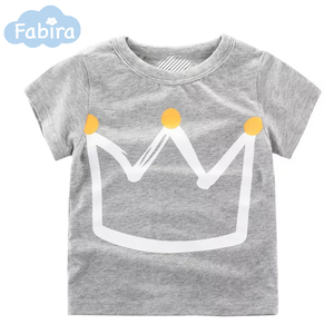 High Quality Fashion 100% Cotton Cute Printed Custom Kids T-Shirt