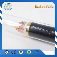 0.6-1kv crossllinked polythylence insulated PVC sheathed 150mm2 copper conductor cable
