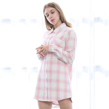 Long Sleeve Nightgown Sleep Dress For Women Plus Size Night Gown