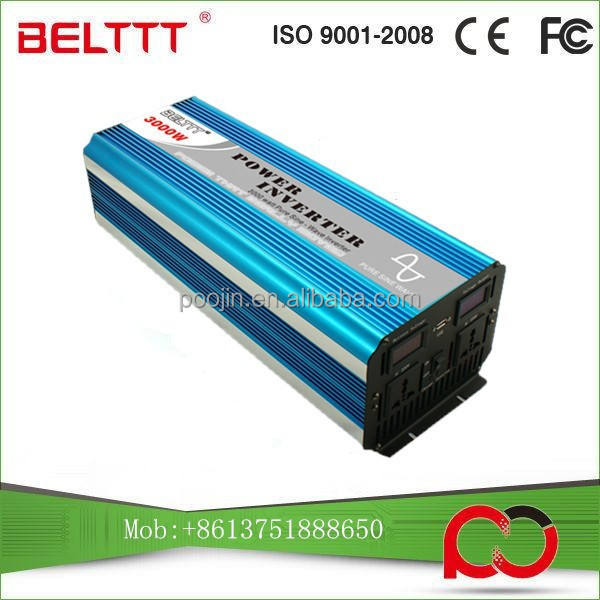 BELTTT Hot Sale!!! 3000W pure sine wave inverter with AC charger 1000w 2000w 3000w 4000w 5000w 6000w