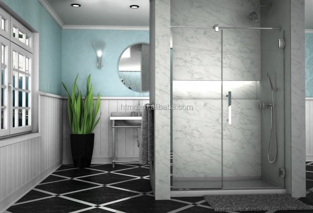 2015 modern fashion new design bathroom sliding glass door for Latest bathroom designs 2015