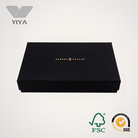 Corrugated cardboard box with lid Custom t shirt Packaging