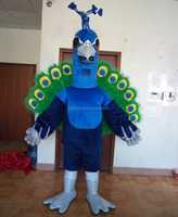 Quality peacock dance mascot costumes adult peacock mascot costume