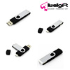 8GB USB 2.0 Flash Drive Memory Stick Fold Storage Thumb Stick