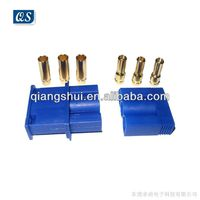 EC5 Trinity Golden Plated Banana Connector (3 holes)
