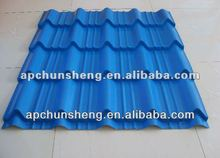 metal glazed roof tile factory